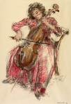 Retrato de María Mircheva